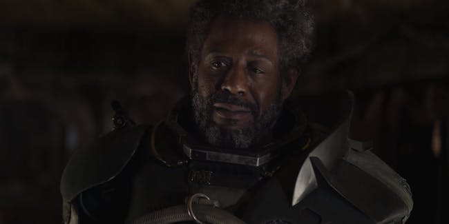 Forest Whitaker as Saw Gerrera in 'Rogue One'