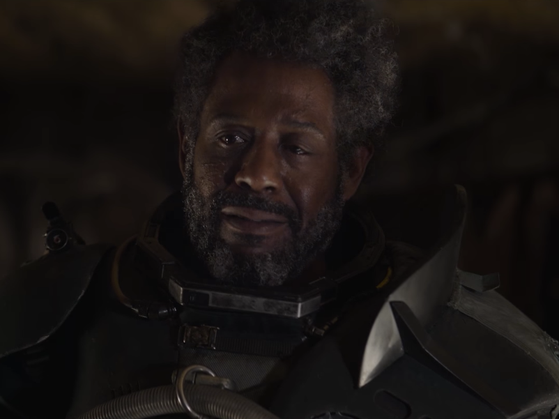 Woah, Saw Gerrera Has an Awesome Robotic Leg in 'Rogue One'