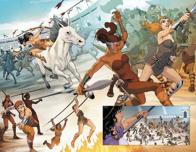 wonder woman amazon comics nicola scott