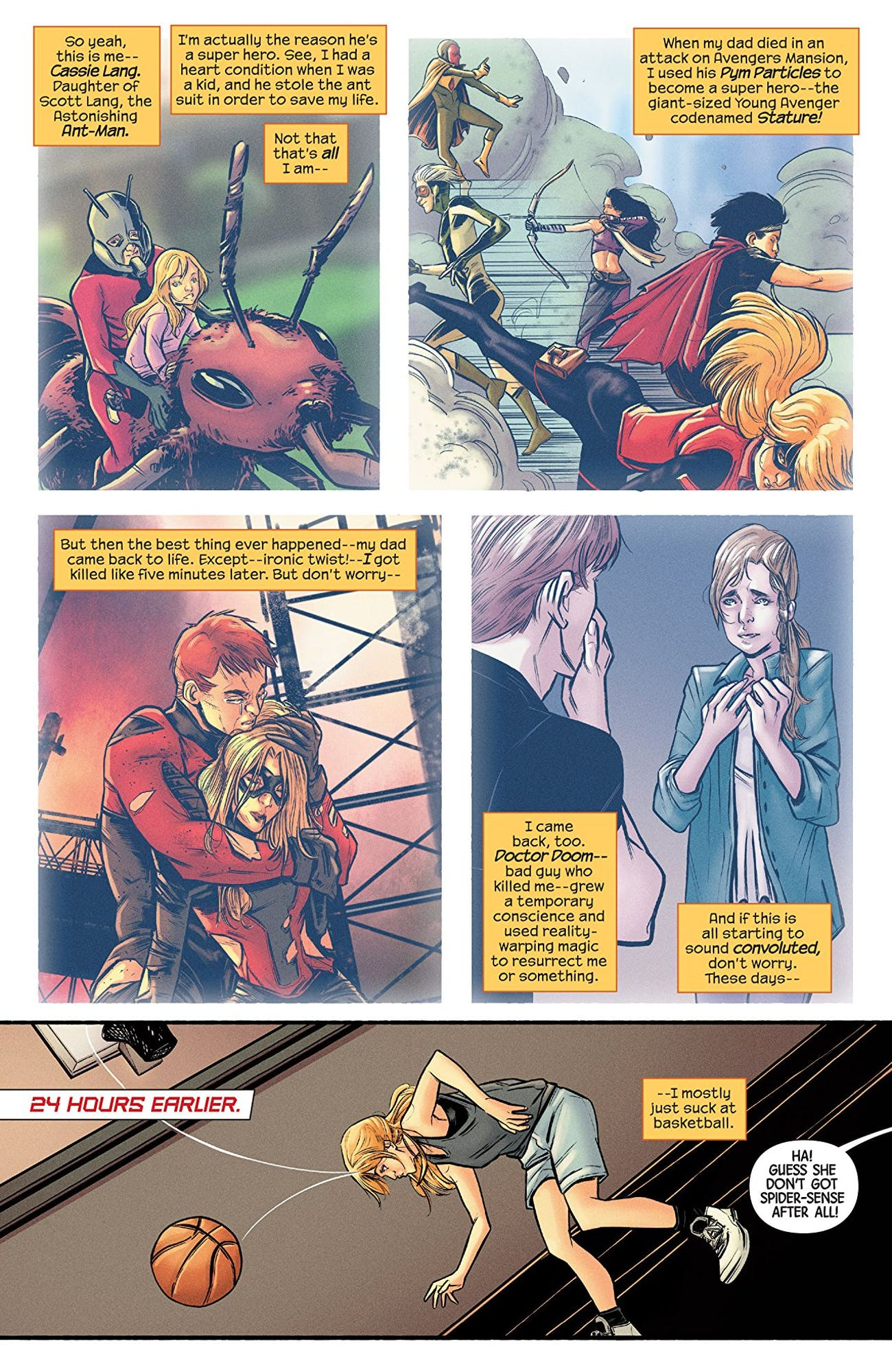 Ant-Man and the Wasp Cassie Lang