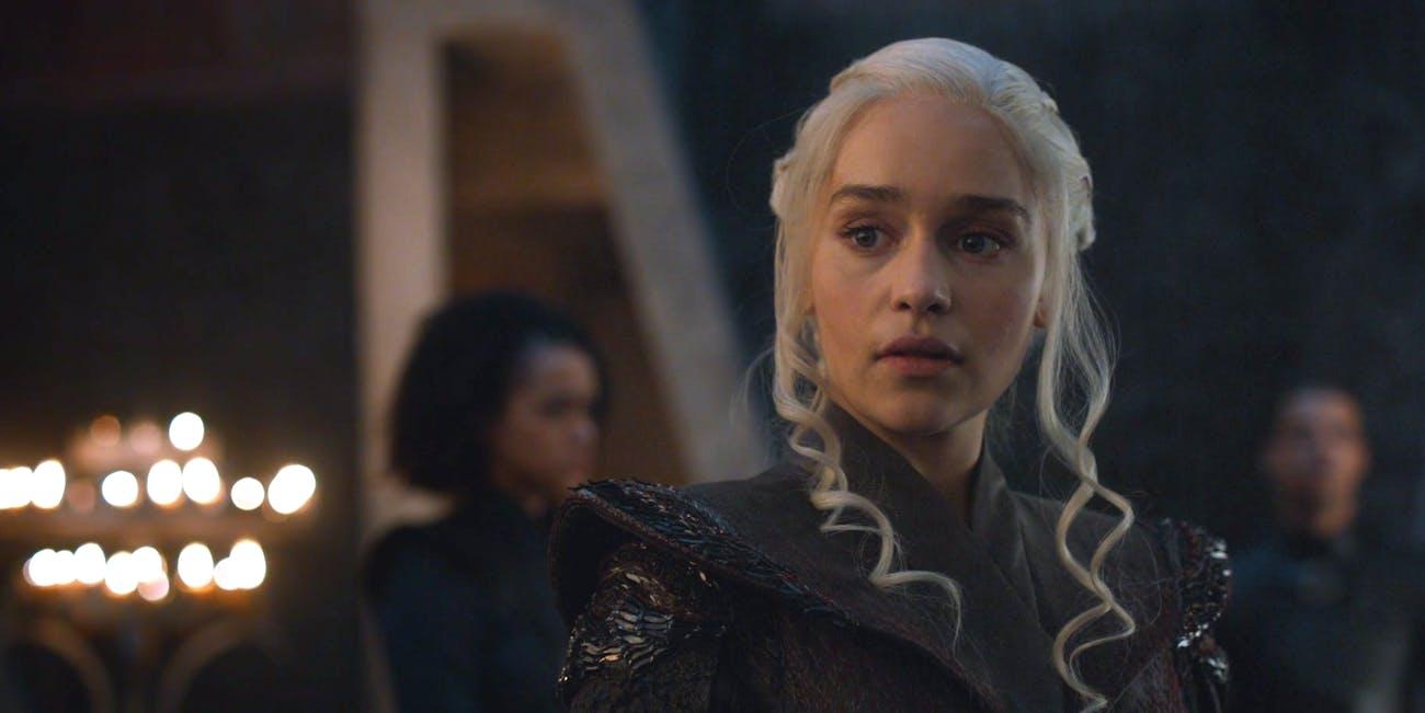Emilia Clarke as Daenerys Targaryen  in 'Game of Thrones'
