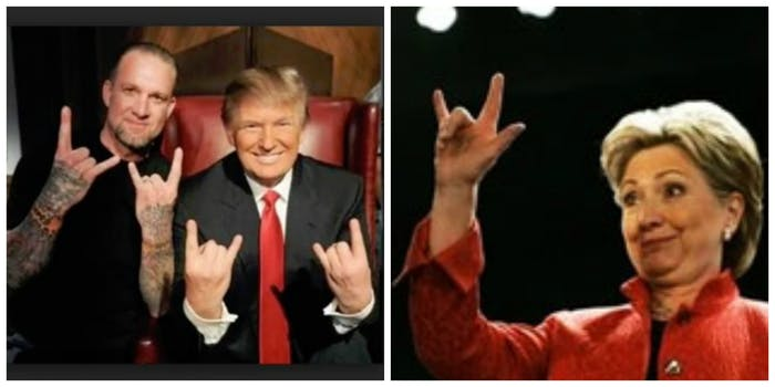 Trump and Clinton are both in on it, allege most Illuminati conspiracists.
