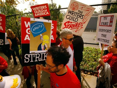 Hollywood Writers May Go on Strike. These Numbers Explain Why