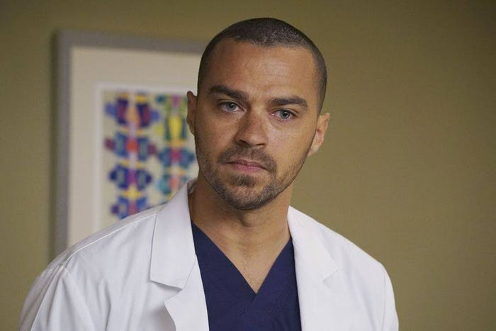 Jesse Williams in 'Grey's Anatomy'