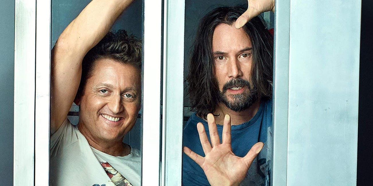 Promo photo for 'Bill & Ted Face the Music'