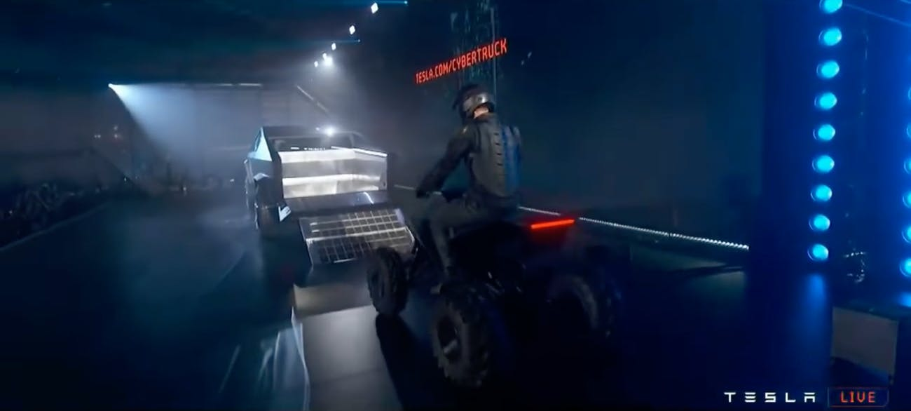 Tesla's ATV.