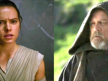 Mark Hamill Keeps Joking That Rey Is Luke's Daughter