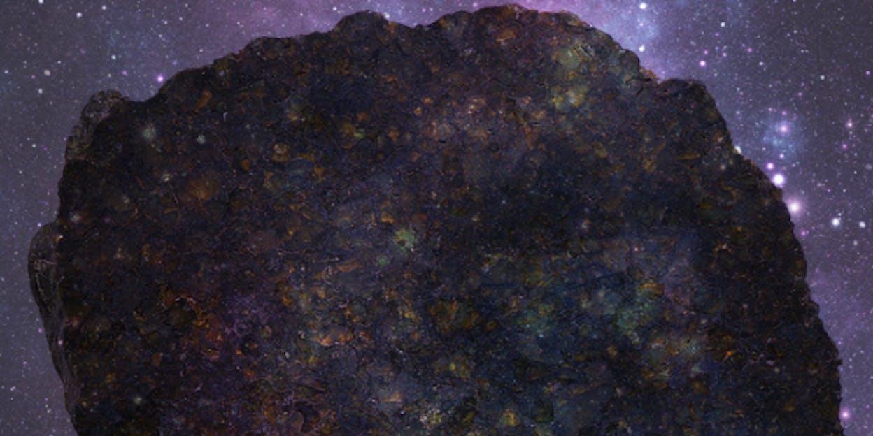 Ureilite, meteorite
