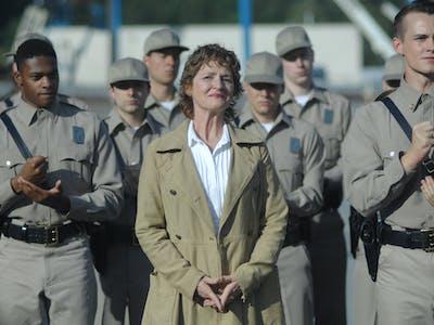 Nurse Pam Strangles Jason's Origin Story in 'Wayward Pines'