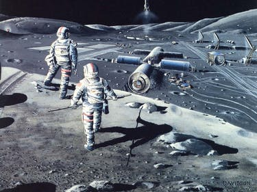 Europe and China Are Working on a Moon Base