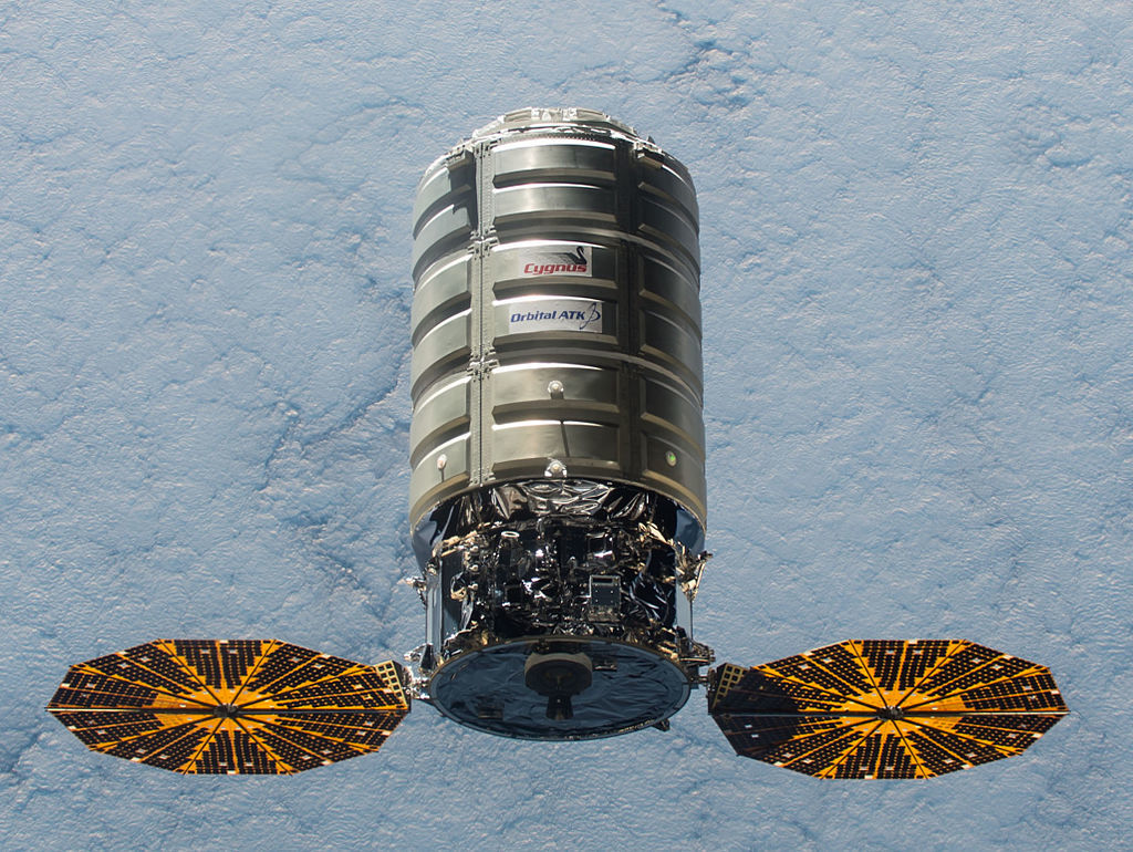 Cygnus isn't much to look at but it carries some pretty cool stuff.