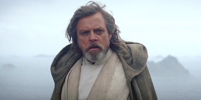 Luke Skywalker in The Force Awakens