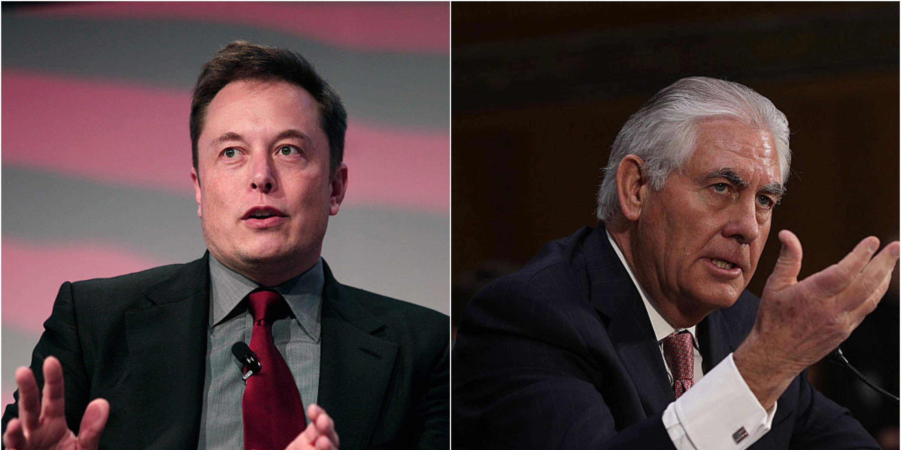 "Elon Musk Defends Rex Tillerson: ""No Better Person"" to Push for Carbon Tax"