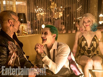 New 'Suicide Squad' Photo Offers a Glittery New Look At Joker, Harley