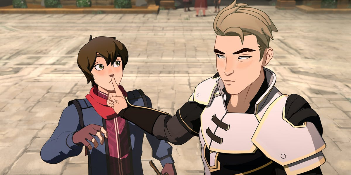 Dragon Prince Season 2 Release Date Plot Video Game Animation And More