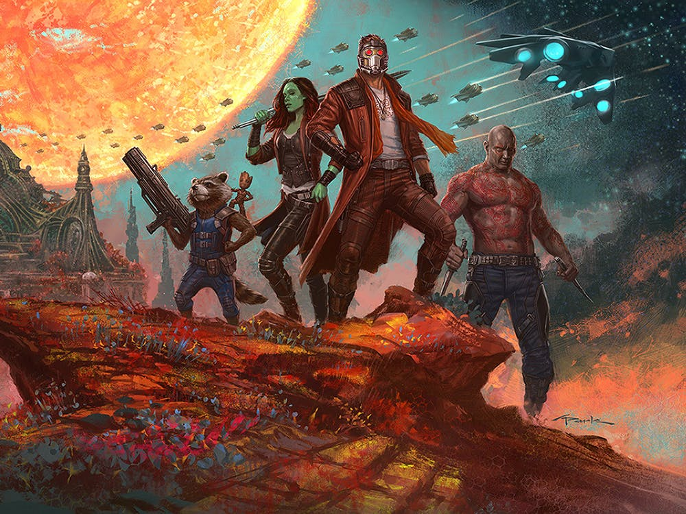 Andy Park Guardians of the Galaxy