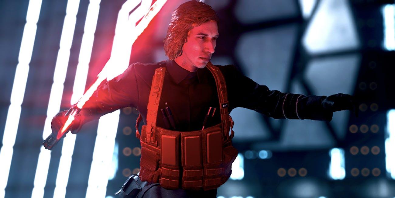 How to Get Kylo Ren SNL Matt 'Star Wars: Battlefront II' Mod