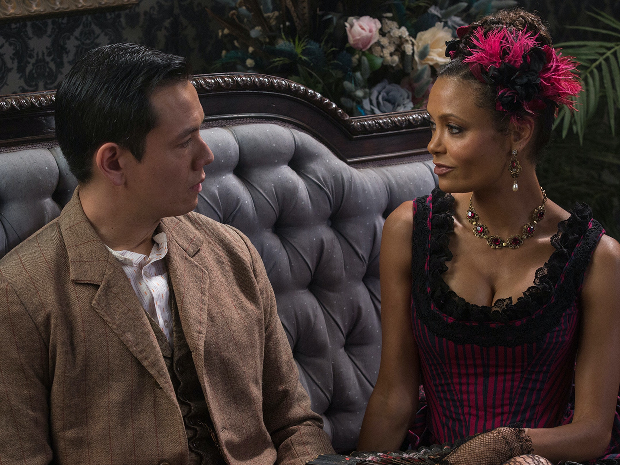 Thandie Newton as Maeve in HBO's 'Westworld'