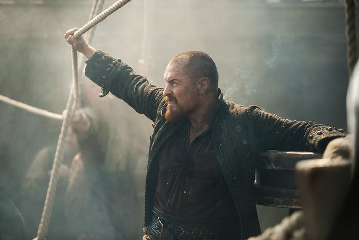 Toby Stephens as James Flint in 'Black Sails' Season 4