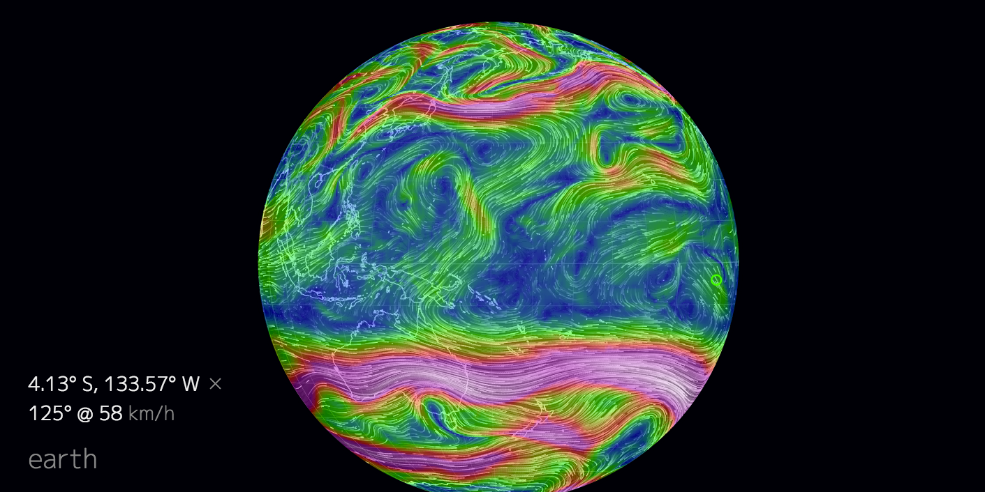 jet stream equator