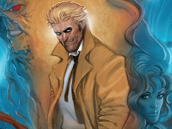 DC Rebirth's 'Constantine' Shudders Back to Life