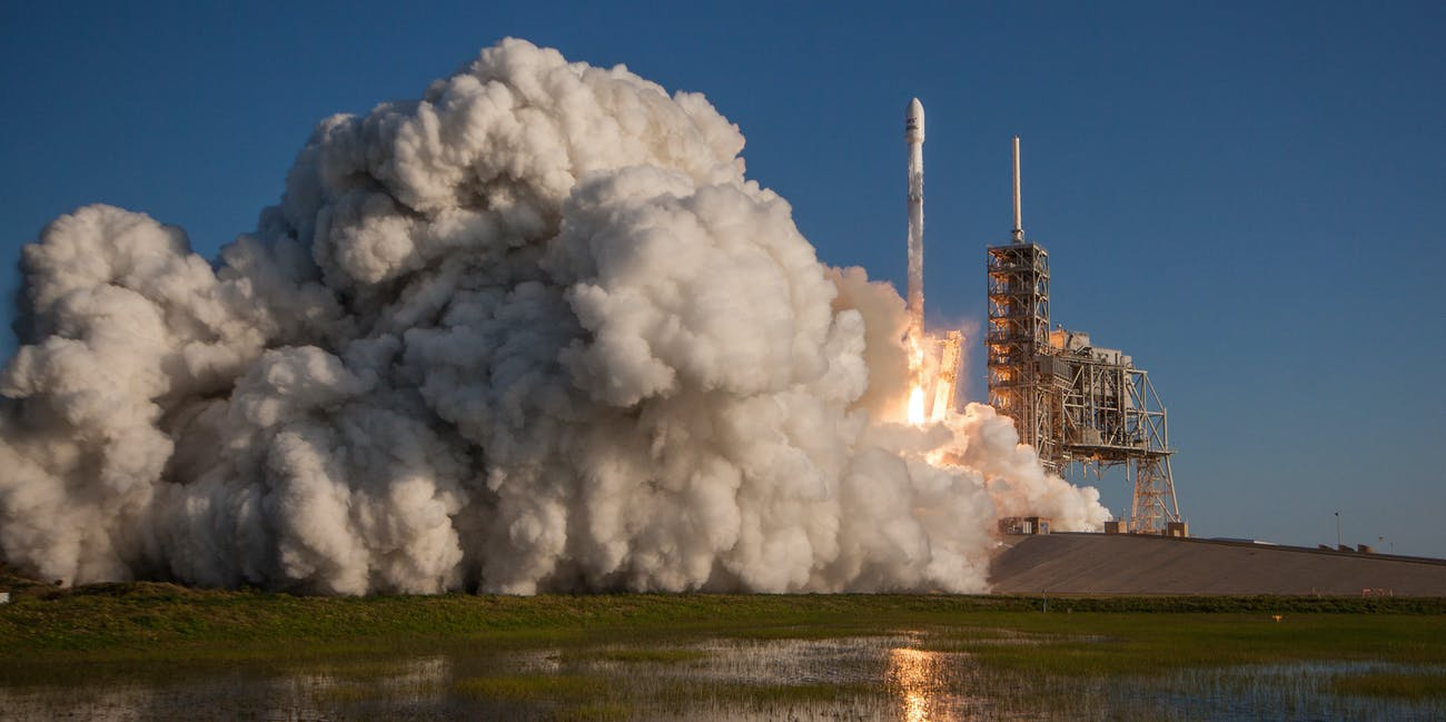SpaceX Falcon 9 Booster Makes History