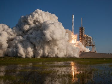 SpaceX's SES-10 Launch Wasn't Just Successful -- It Looked Amazing
