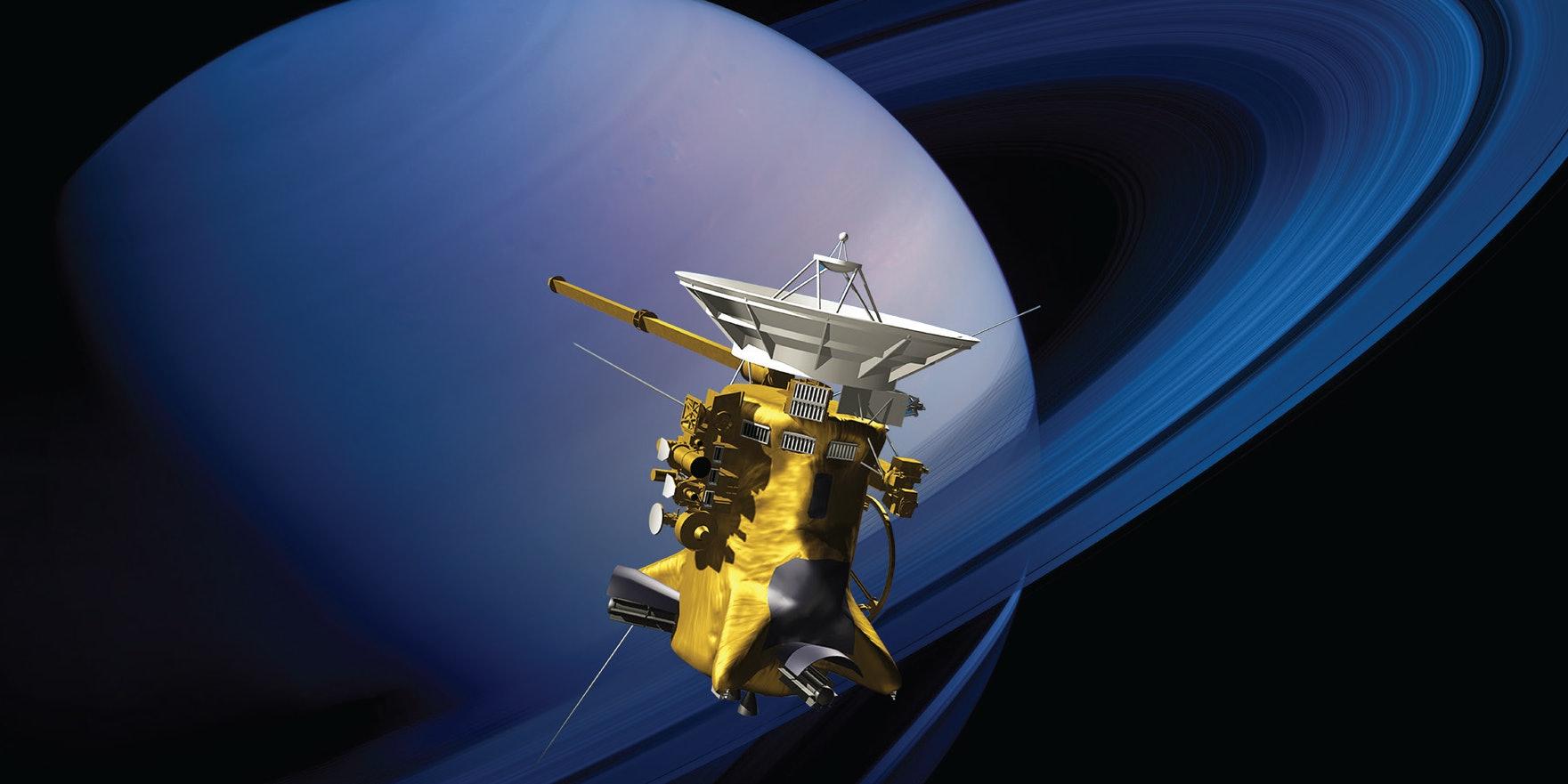 NASA Reveals Cassini's Grand Finale Tour Around Saturn