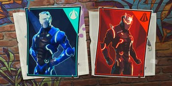 It's time for you to spray paint all over a bunch of Carbide and Omega posters in 'Fortnite'.