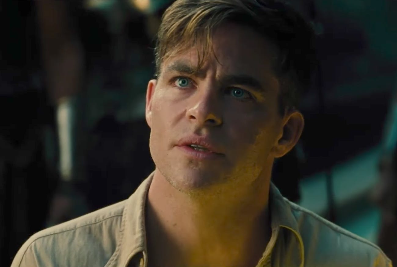 Chris Pine Wonder Woman Steve Trevor