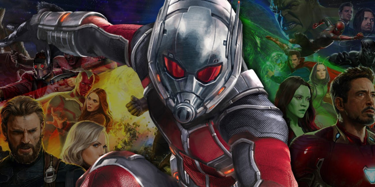 solid proof ant-man is in 'avengers: infinity war' | inverse