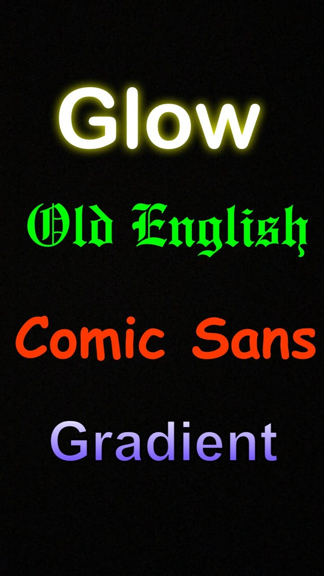 how to change snapchat font styles