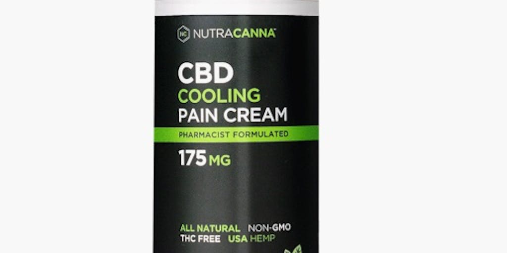 CBD Topical Soothing Cream