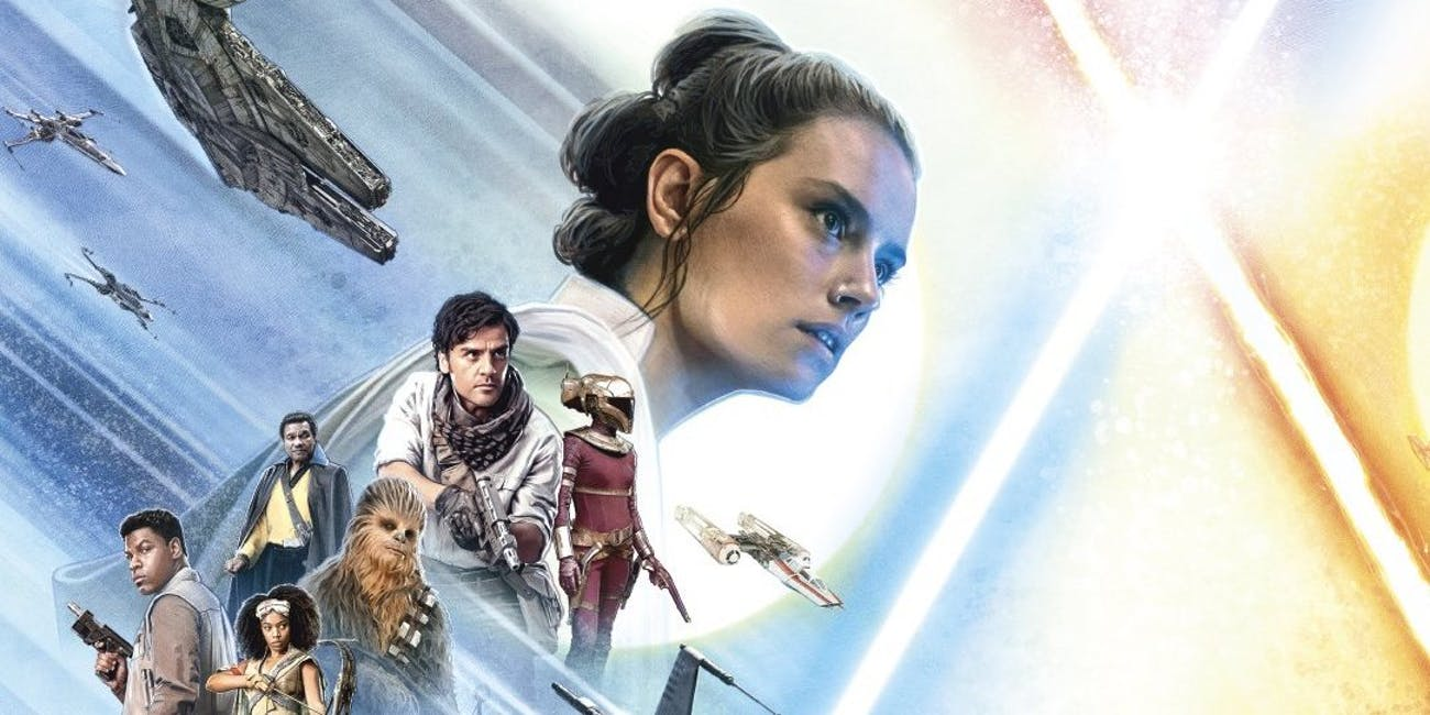 Double poster for 'The Rise of Skywalker'