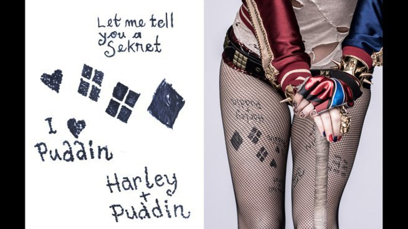Suicide Squad Extended Cut Reveals Harley Quinns Prison Tats Inverse