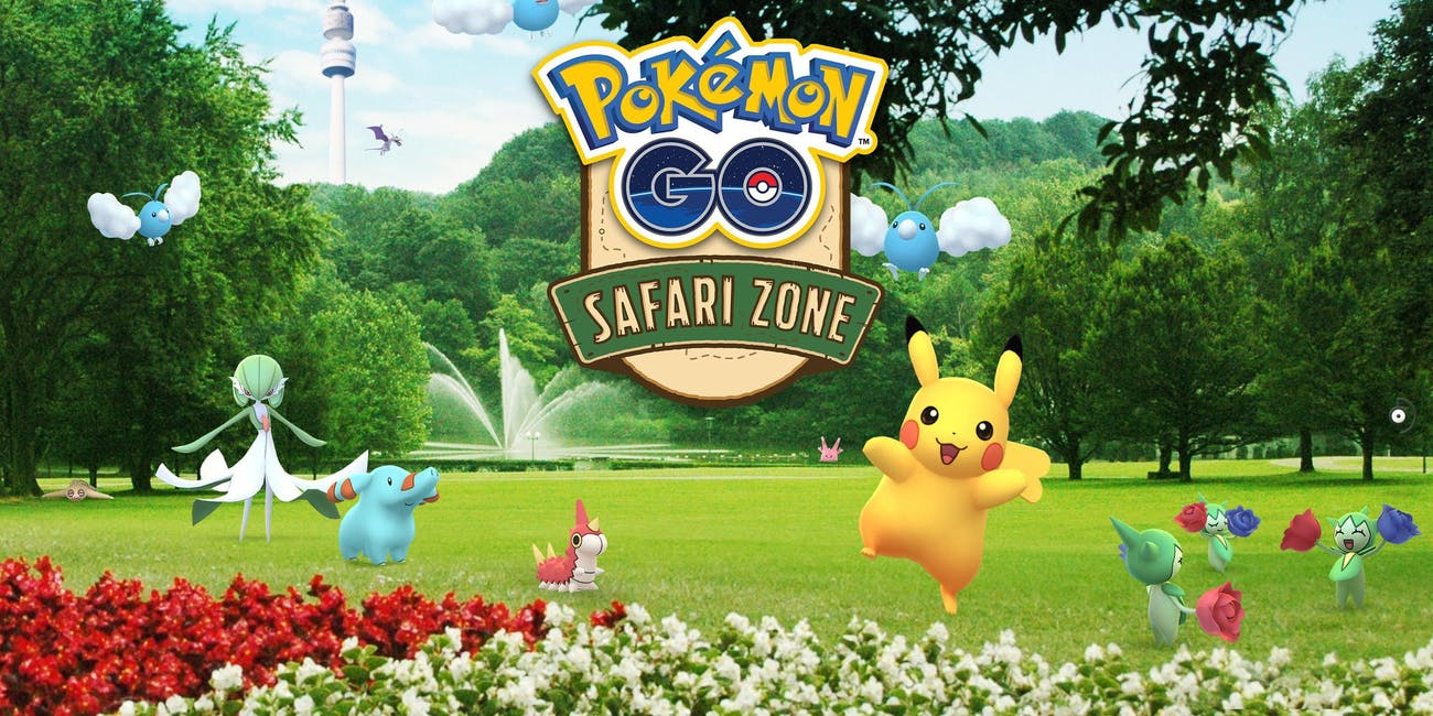 'Pokémon GO' Safari Zone