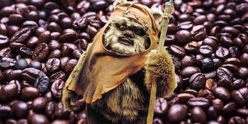 Ewoks Farm Coffee, Apartently