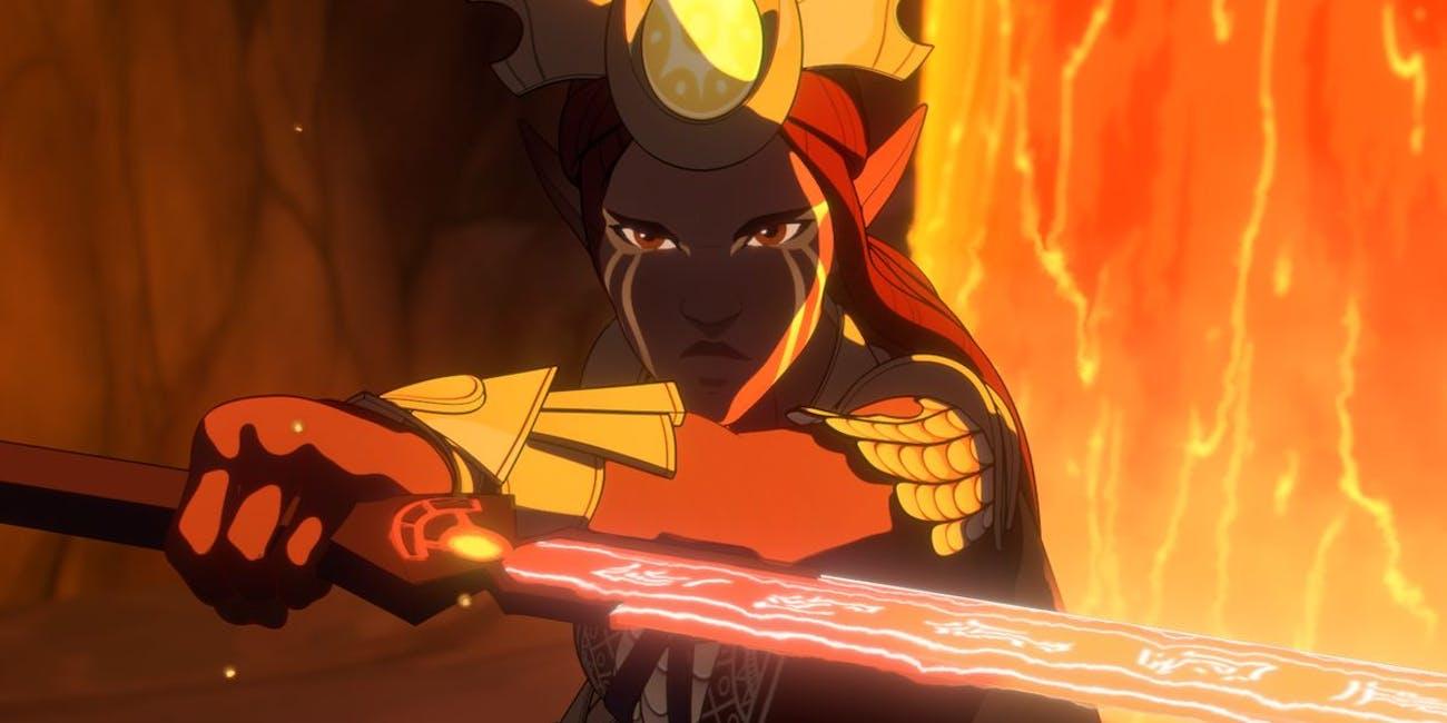 Animated Series Dragon Prince Season 4