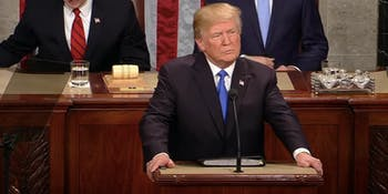 Donald Trump, State of the Union