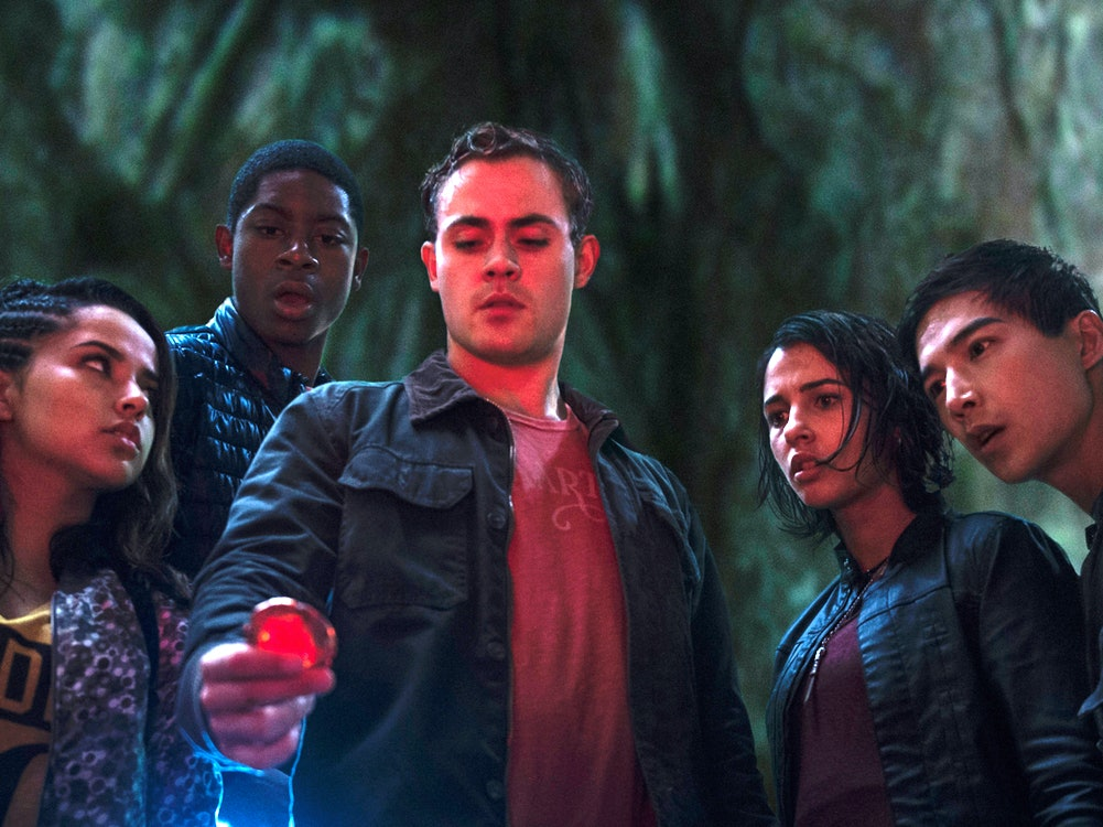 The 'Power Rangers' Are Basically Teenage Captain Americas