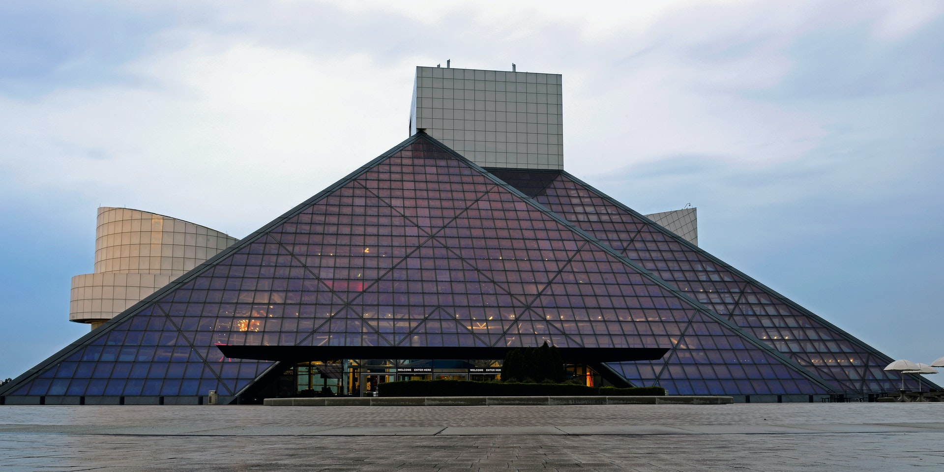 The pyramid at Paisley Park.