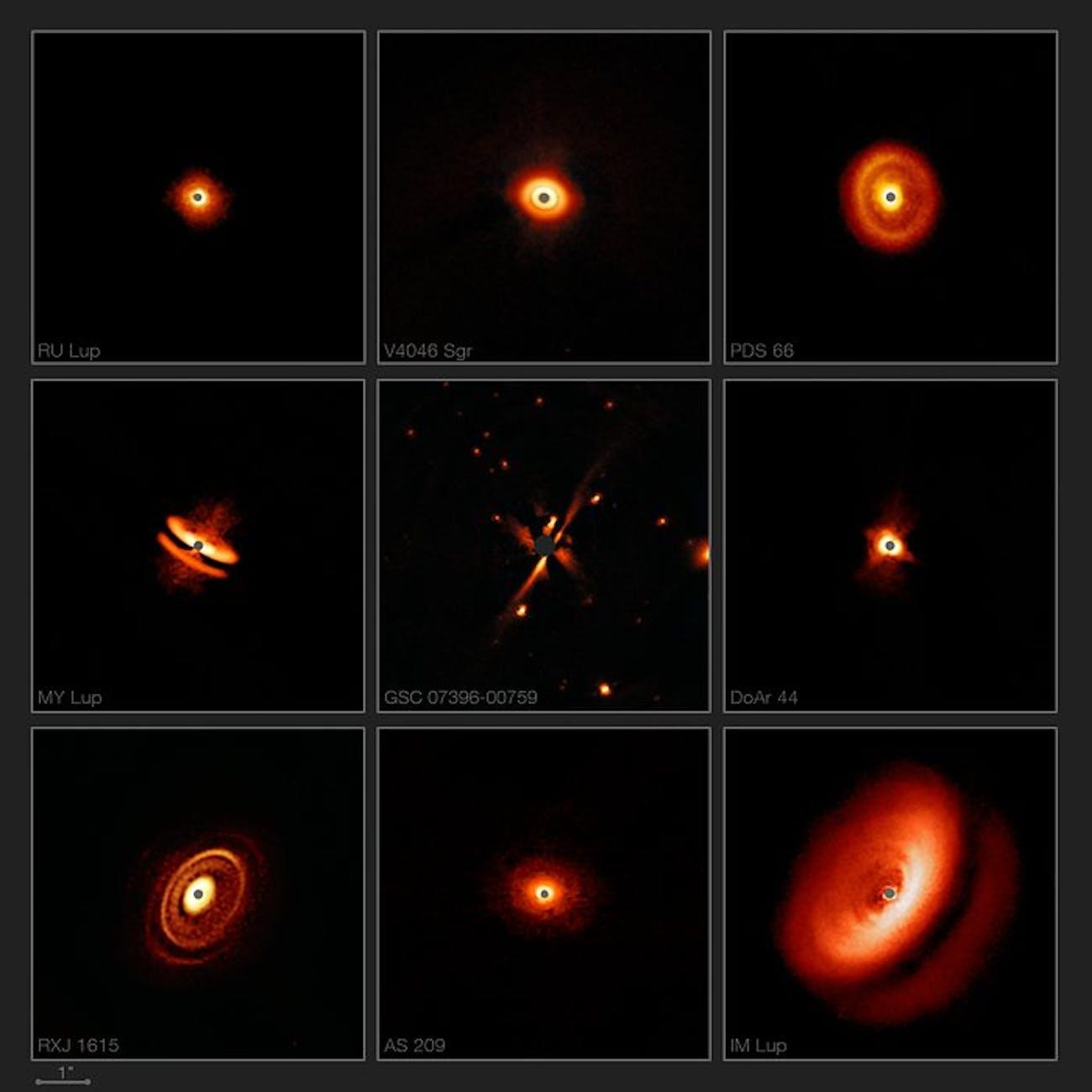 Disks around T Tauri stars