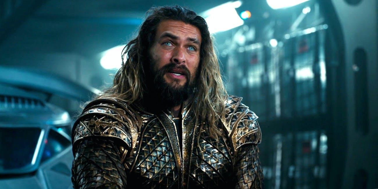 Aquaman in 'Justice League'.