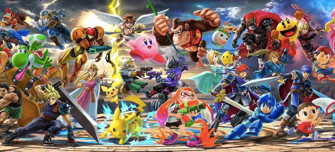 super smash bros ultimate character fighter roster list