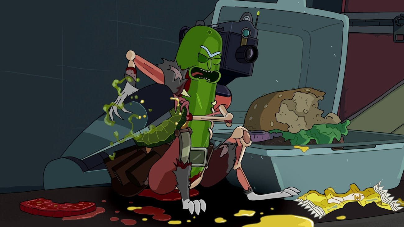 """Pickle Rick"" from 'Rick and Morty'"