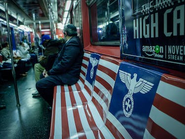 Amazon's Nazi Subway Ads for 'Man in the High Castle' Don't Exactly Fly