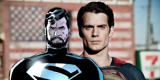 Henry Cavill Justice League Beard