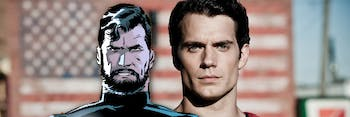 Henry Cavill Justice League Beard