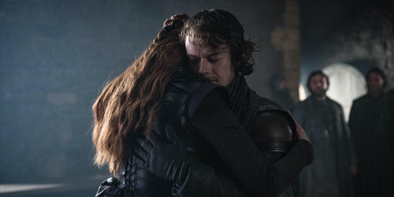 Game of Thrones Season 8 sansa and theon