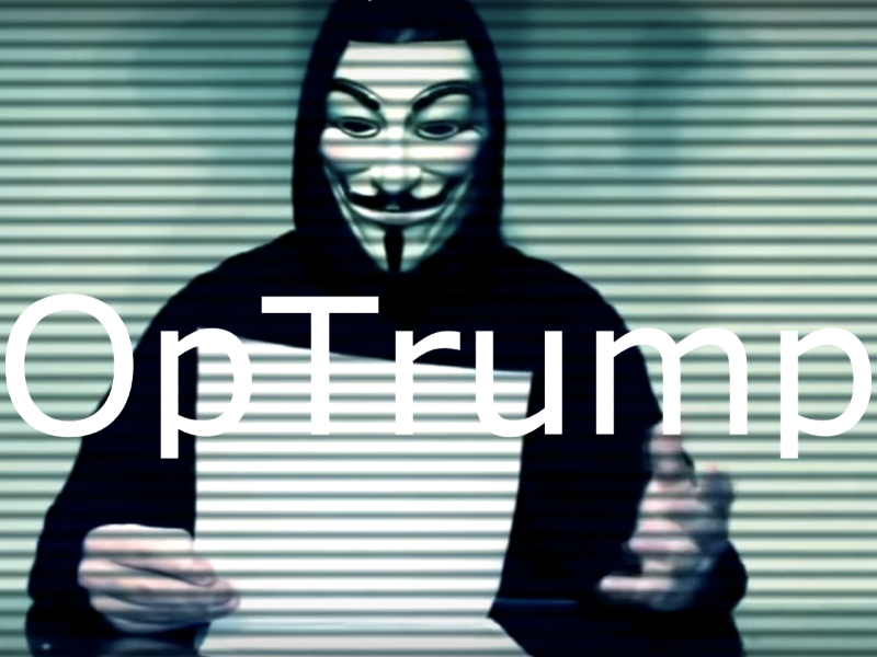 Anonymous Has Announced Another War on Trump, Set for April Fool's Day